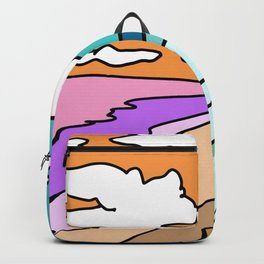 beach and mountain spirit Backpack