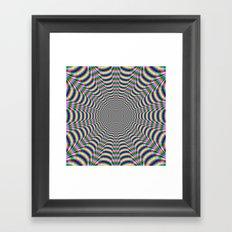 Psychedelic Web Framed Art Print