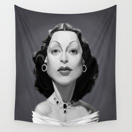 Hedy Lamarr Wall Tapestry