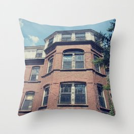Decay Lies Here Throw Pillow