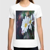 daisies T-shirts featuring Daisies  by ANoelleJay