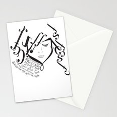 for those of you falling in love Stationery Cards