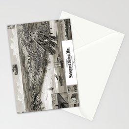 Newport News - Virginia - 1891 Stationery Cards