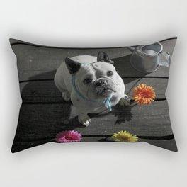 Os Patudos 3 - French Bulldog Rectangular Pillow
