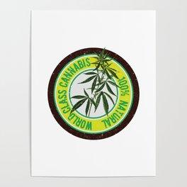 World Class Cannabis Poster