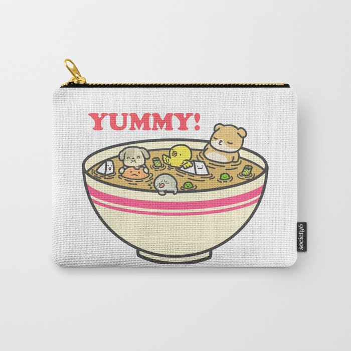 Yummy! Pet Bowl Carry-All Pouch