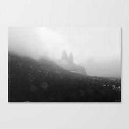 Superstition Mountains, Arizona Canvas Print