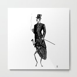 Like a Sir Metal Print