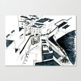 Maltese Street Canvas Print