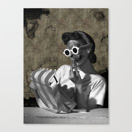 Make Down Canvas Print