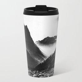Mountain Valley Glacier National Park Travel Mug