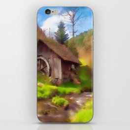 Water Mill iPhone Skin