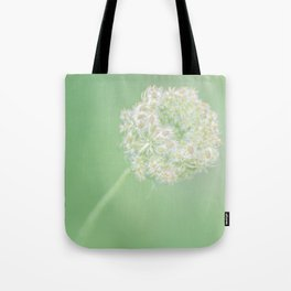 Spring Green Queen Tote Bag