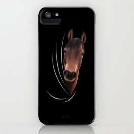 Horse Animal Coming From Inside iPhone Case