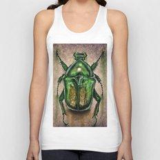 Scarab Beetle Unisex Tank Top