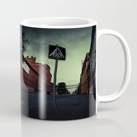 surrealism Mugs featuring surrealism by Chirko.Roman