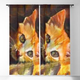 Ginger and Spice With Everything Nice Blackout Curtain