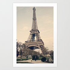 Good Morning Paris Art Print