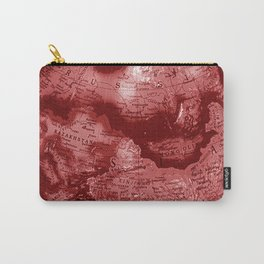 Russia in Red Carry-All Pouch