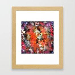 See the flames Framed Art Print