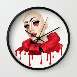 Sasha Velour Wall Clock