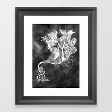 Scary Thoughts II Framed Art Print