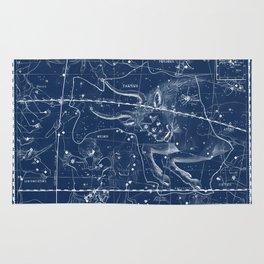 Taurus sky star map Rug