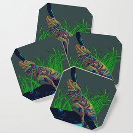 Colorful Lizard Coaster