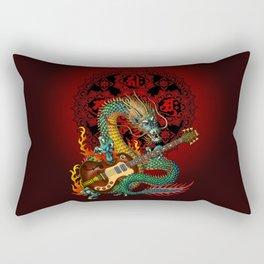 Dragon guitar 1 Rectangular Pillow