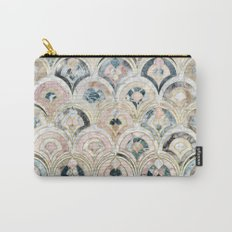 Art Deco Marble Tiles in Soft Pastels  Carry-All Pouch