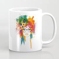 dreamer Mugs featuring Dreamer by PositIva