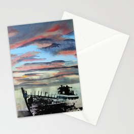 Akranes at Sunset, 2015 Stationery Cards