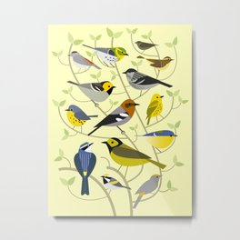 New World Warblers 2 Metal Print
