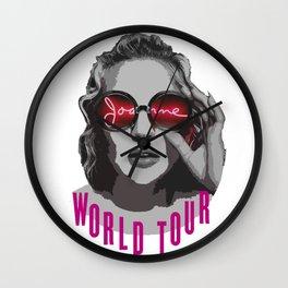 Joanne Tour Wall Clock
