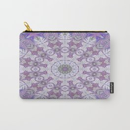 Jungle Kaleidoscope Amethyst Carry-All Pouch