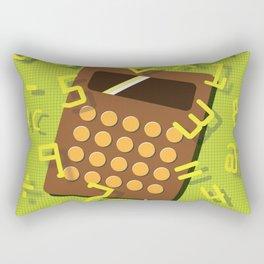 Numeric Escape Rectangular Pillow