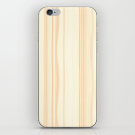 Basswood Surface Texture iPhone Skin