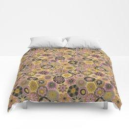 Millefiori-Earthy Colors Comforters