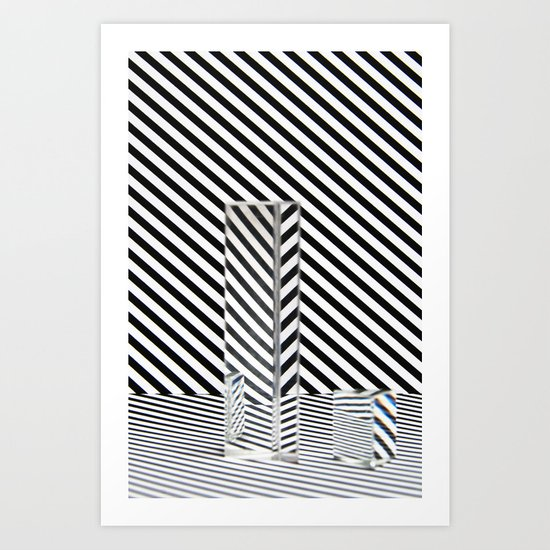 Prism Stripes 5 Art Print