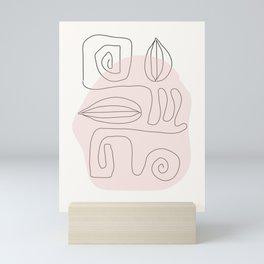 My Way Mini Art Print