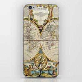 Antique Map iPhone Skin