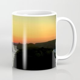 Sunsetting over the Great Southern Ocean Coffee Mug