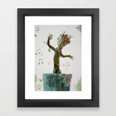 Baby Groot Framed Art Print