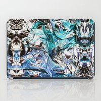 metallic iPad Cases featuring Metallic by Lara Gurney