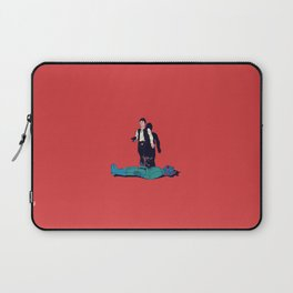 Over my dead body Laptop Sleeve