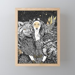 Fortitude Framed Mini Art Print