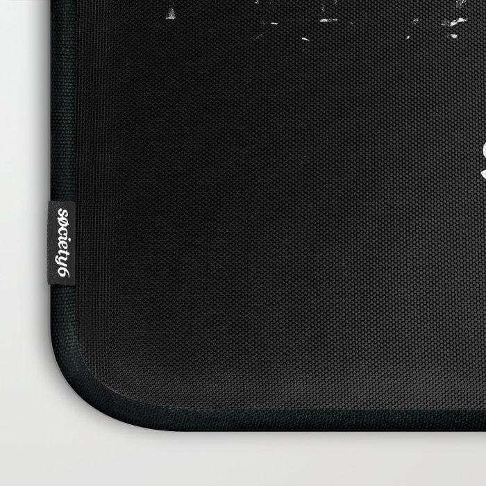 Shit Happens (Black White) Laptop Sleeve