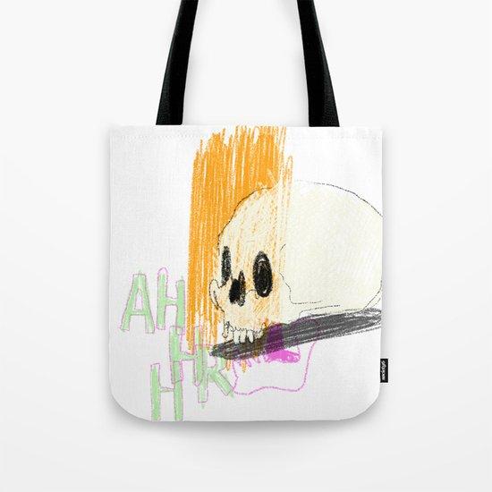 AHHHHHHR IT'S A SKULL (ACTUALLY IT'S JUST THE CRANIUM) Tote Bag