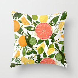 Punch Bowl Pattern Throw Pillow