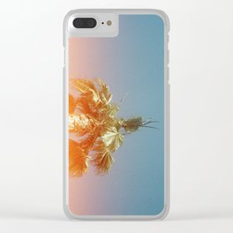 Californian Lens Flare Clear iPhone Case